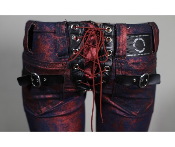 italiano_couture_womans_rocker_buckle_red_metallic_lace_up_pants_pants_and_jeans_6.jpg