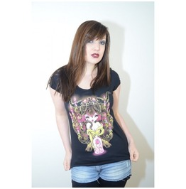 Candelabra Tee By Black Dust