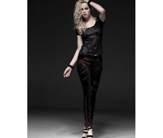black_punk_gothic_zippered_red_plaid_tartan_leggings_leggings_6.jpg