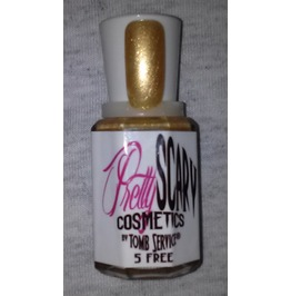 Ghouls Gold Nail Polish By Pretty Scary Cosmetics