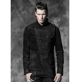 Men's Gothic Formal Double Breasted Button Up Top/Blazer/Jacket