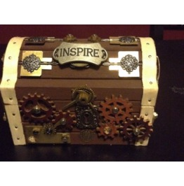 Steam Punk Treasure Chest