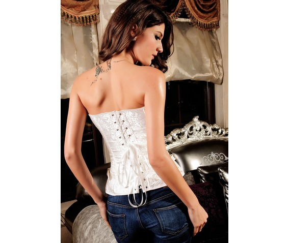 black_white_gothic_steampunk_jacquard_overbust_corset_with_buckles_bustiers_and_corsets_6.jpg