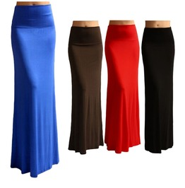 Brand New Summer Women Elastic Sexy Long Pencil Skirt