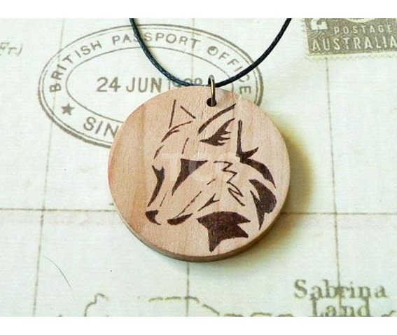 hand_burned_wooden_pyrography_pendant_tribal_fox_design_necklaces_2.jpg