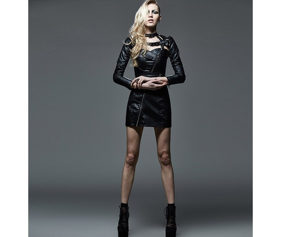 gothic_sleeveless_zip_up_black_leather_looking_dress_dresses_6.png