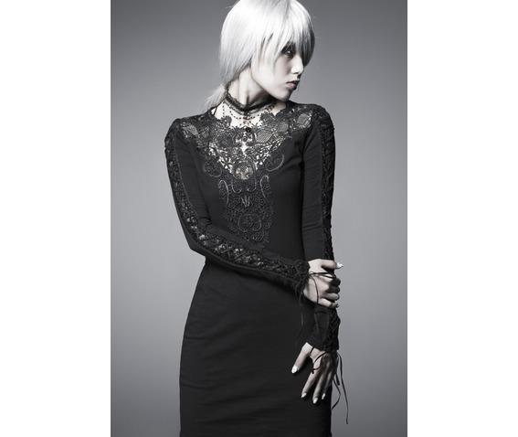gothic_long_corset_sleeve_black_lace_up_dress_dresses_6.png