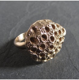 Bronze Coral Ring