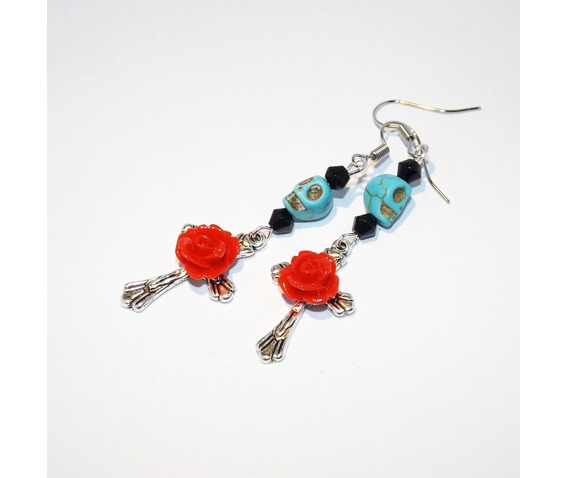 handmade_turquoise_skull_red_rose_cross_rockabilly_earrings_earrings_4.jpg