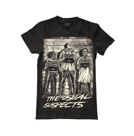 Darkside T Shirt The Usual Horror Suspects Freddy Kruger Jason Leather Face
