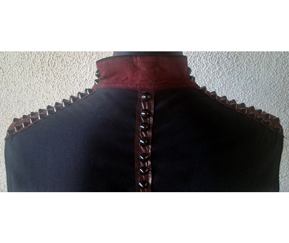 italiano_couture_spiked_rocker_denim_vest_black_and_red_vests_4.jpg