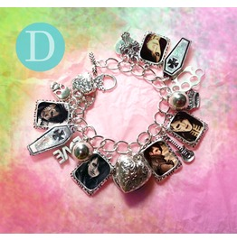 Bvb Black Veil Brides Ashley Purdy Charm Bracelet