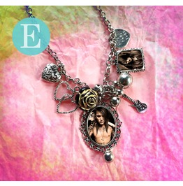 Bvb Black Veil Brides Ashley Purdy Charm Necklace