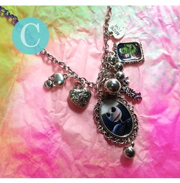 Tim Burton The Nightmare Before Christmas Charm Necklace