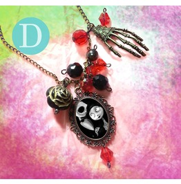 Tim Burton The Nightmare Before Christmas Charm Necklace D