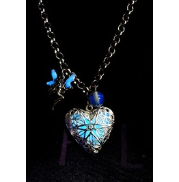 Ocean Of Love Heart Fairy Tale Glowing Necklace