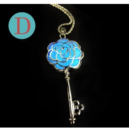 Rosary Key Glowing Necklace D