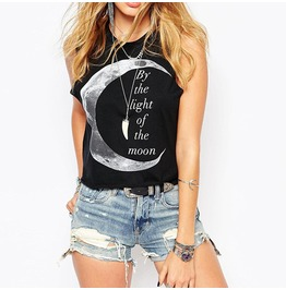 By The Light Of The Moon Tank Tops
