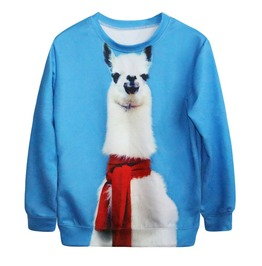 Alpaca Sweatshirt Sudadera Wh302