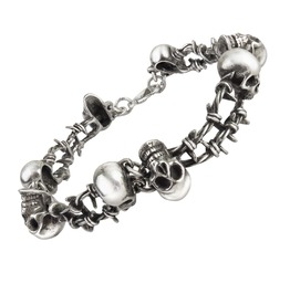 No Man's Land Men's Gothic Bracelet By Alchemy Gothic