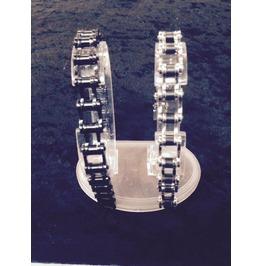 Chainlink Bracecelet 8,9,10 Inch Long Stainless Steel