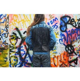 Tree Of Life Denim Jacket