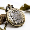 Vintage christmas pocket watch necklace watches 5
