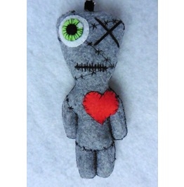 Franken, The All Stitched Up One Frankenstein Circus Freak Doll Zombie