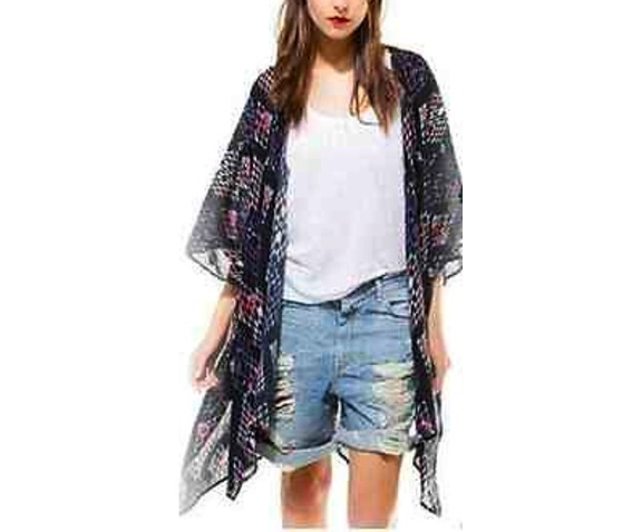 pretty_black_with_red_diamond_kimono_design_half_sleeve_small_size_uk_6_standard_tops_3.jpg