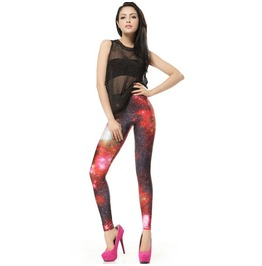Blazing Galaxy Leggings Pants
