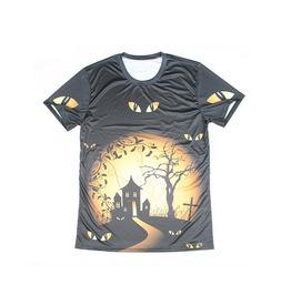 Men's 3 D Halloween T Shirt