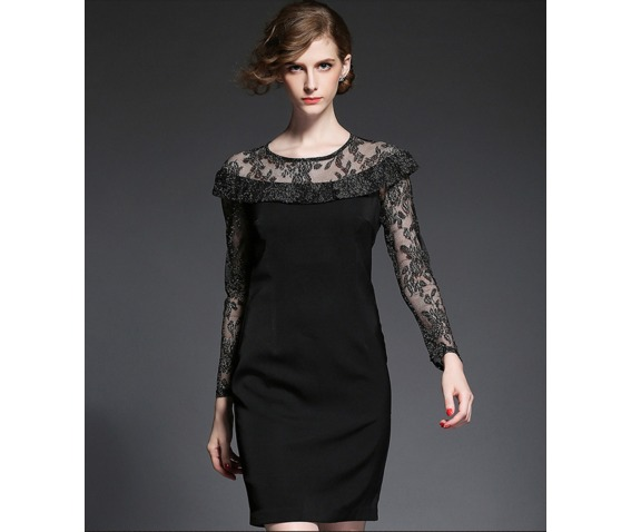 vintage_long_lace_sleeves_round_neck_black_dress_dresses_6.png