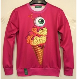 Eye Ice Cream Sweatshirt / Sudadera Ojo Helado Wh152