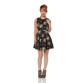Jawbreaker Zombie Girl Psychobilly Skater Dress