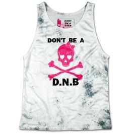 Don't Be A Dnb Tank Top Fitness Running Workout Women D.N.B. Gym Wear
