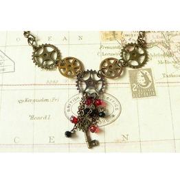 Steampunk Necklace (Sn012)