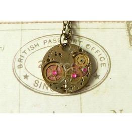 Steampunk Necklace (Sn053)