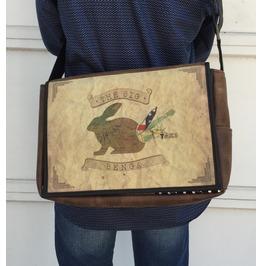 Student Big Benga Benga Rabbit Messenger Bag