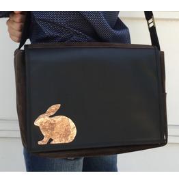 Student Rabbit Benga Rabbit Messenger Bag
