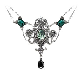 Queen Of The Night Ladies Gothic Pendant By Alchemy Gothic