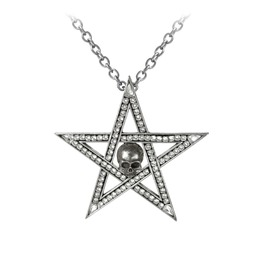 Crystalwitch Ladies Gothic Pendant By Alchemy Gothic