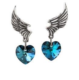 El Corazon Ladies Alternative Earrings By Alchemy Gothic