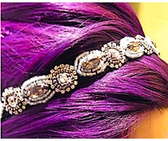 eye_catching_diamante_beads_design_on_elasticated_black_hair_band_hair_accessories_3.jpg