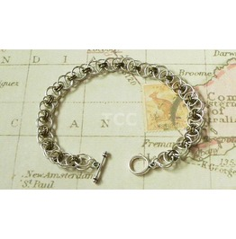 Chain Mail Bracelet (Bronze)