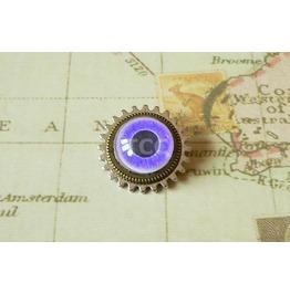 Cog & Eye Brooch (Bh076)