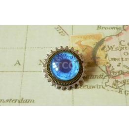 Cog & Eye Brooch (Bh073)