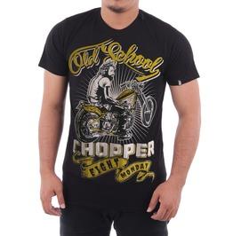 Eight Monday Men's Shirt Vintage West Coast Chopper Motorcycle Biker Em25