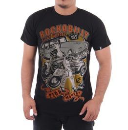 Eight Monday Rockabilly Men's T Shirt Pin Up Custom Cars Hot Rod Em26