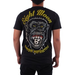 Eight Moon Rockabilly Gorilla Men's Shirt Rock Hot Rod Custom Cars En3