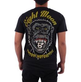 Eight Moon Rockabilly Gorilla Men's Shirt Rock Hot Rod Custom Cars En3